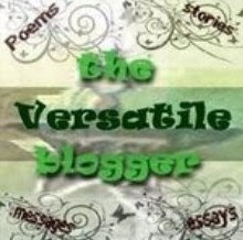 Blog Award: The Versatile Blogger