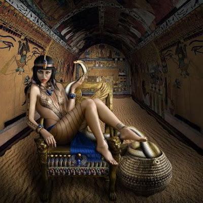 фото клеопатра голая