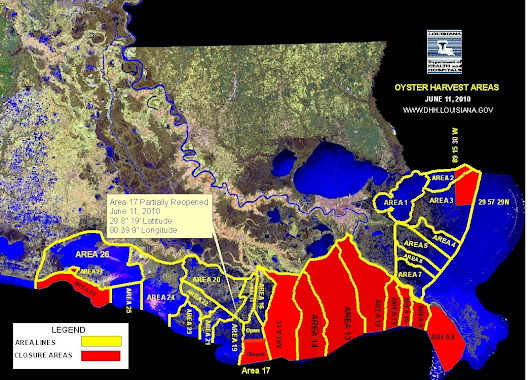Oyster beds closed