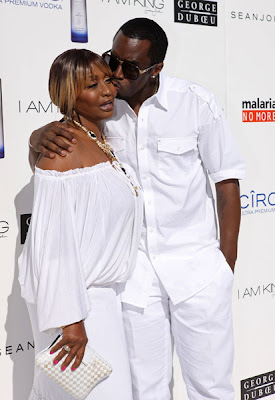 p diddy all white party