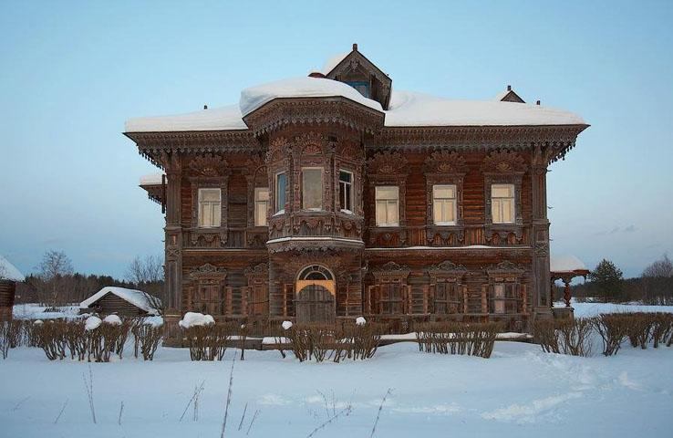 Casas Abandonadas Na R Ssia Olha Que Legal