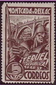 El mateix segell però de color marró