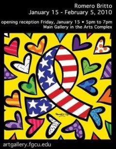 Romero Britto, Florida Gulf Coast University