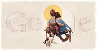 Norman Rockwell, Google doodle