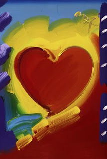 Heart Series 2006. Peter Max.