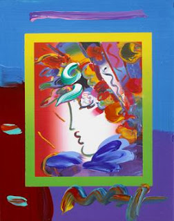 Blushing Beauty on Blends 2006. Peter Max.