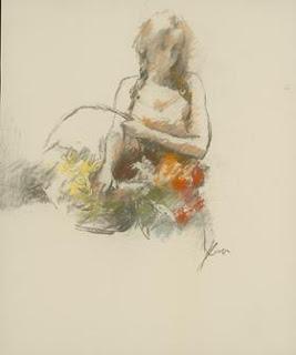 Flowers Basket Study. Hua Chen.