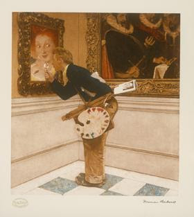 Art Critic by Norman Rockwell