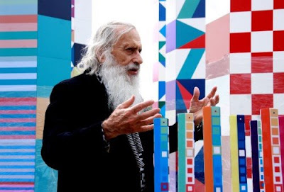Yaacov Agam. Peaceful Communication with the World. 2009 World Games.