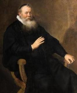 Rembrandt. Eleazar Swalmius (detail). 1637.