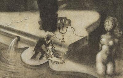 Salvador Dali. Le piano surréaliste (detail). 1937.