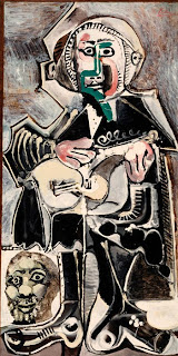 Pablo Picasso. The Guitarist. 1965. Estate of Pablo Picasso / Artists Rights Society (ARS), New York © Artists Rights Society (ARS), New York. Image: Copyright Whitney Museum of American Art