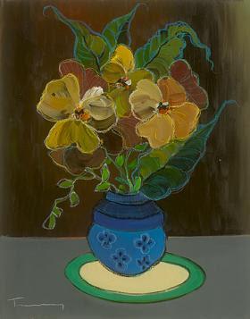 Full Bloom #10. Itzchak Tarkay.
