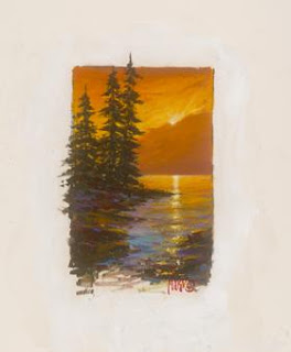 Acadia Sunset. Marko Mavrovich.