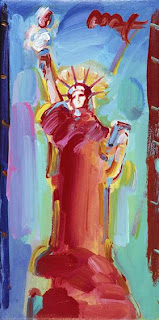 Statue of Liberty Ver. II #15. Peter Max.