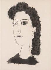 Pablo Picasso from Vingt Poèmes de Góngora (1947).