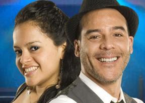 Adolfo Aguilar y su soñadora de El Gran Show