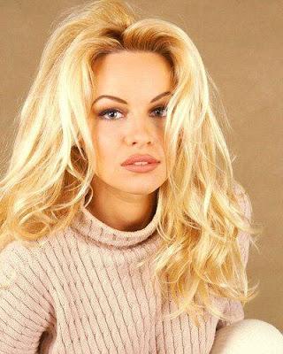 Pamela Anderson con bello rostro
