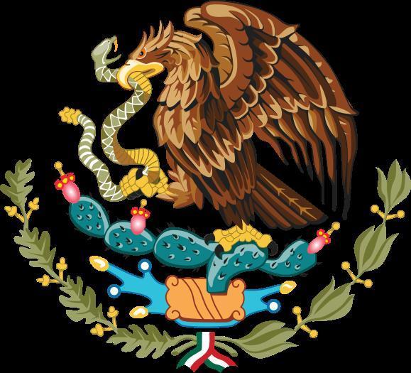 historia de los escudos nacionales en mexico: