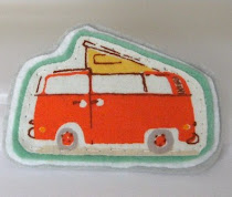 VW Camper Brooch