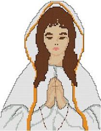 Menina em Oração