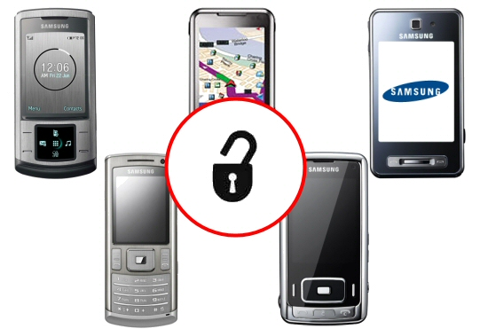 how to unlock samsung corby phone