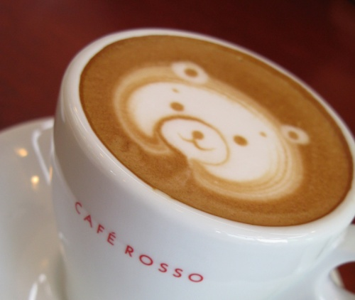 cute coffee art