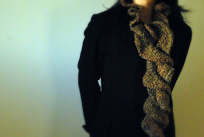 Ruffled Scarf | Free Crochet Pattern - CrochetN'Crafts