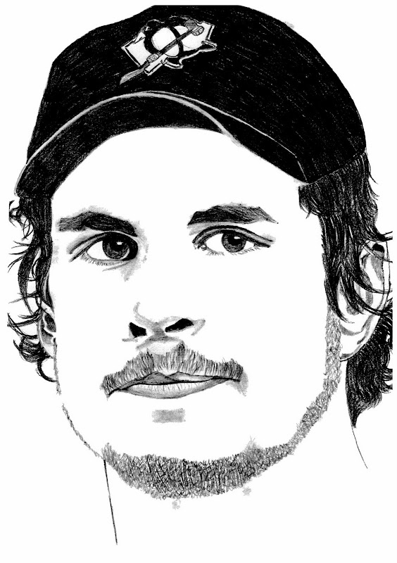 Sidney free colouring pages for Sidney crosby coloring pages