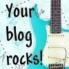 "MY ""YOUR BLOG ROCKS"" AWARD!!"