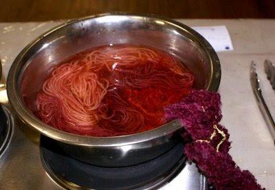 kate's dip-dyeing