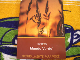 Brinde Gratis Livreto Mundo Verde