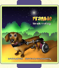 Frankie The walk'n roll dog