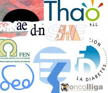 logotipos de asociaciones que colaboran en vivelasalud.com