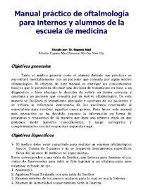 Thumbmail Oftalmología PUC Apuntes Manual