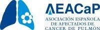 el Logo de la Asociación Española de Afectados de Cáncer de Pulmón