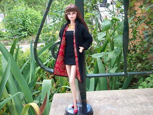 Knitting Beyond the Wall: Short Skirt Long Jacket
