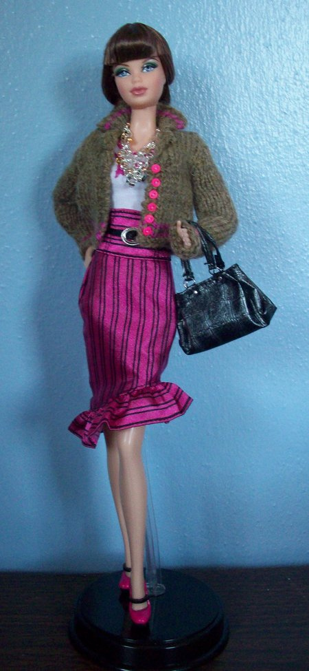 Barbie Basics Knitting Patterns : Knitting beyond the wall