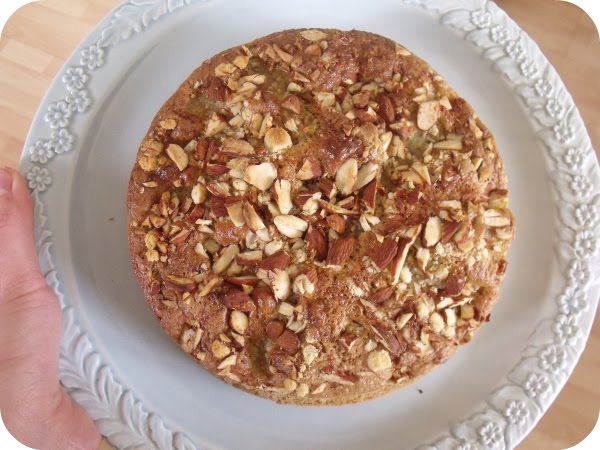 Not Just Apples: pear and almond torte