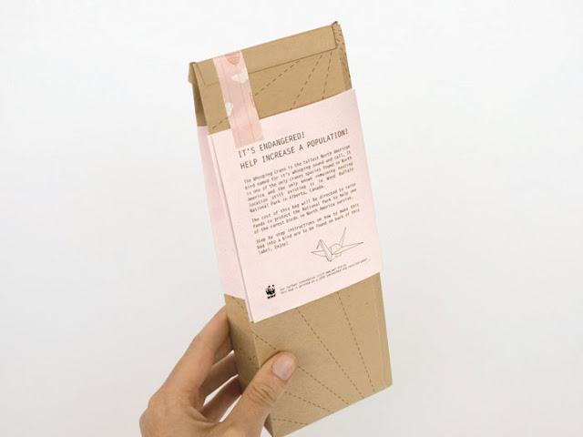 Как сделать бумажный пакет под чай