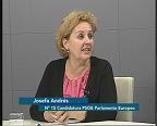 Entrevista a Pepa Andrés, candidata al PE por el PSOE elecciones 7 de junio de 2009 27-5-09