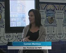 Entrevista a Carmen Martínez, secretaria provincial del PSPV de Valencia