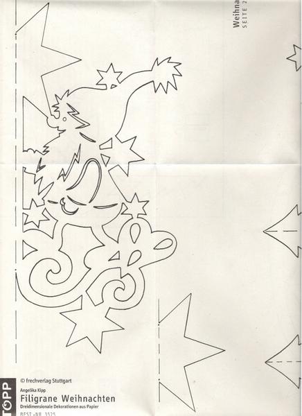 Объемные новогодние поделки своими руками схемы шаблоны