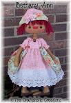 "Bethany Ann e-pattern ~ 21"" doll"
