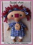 """Suzie Ann ~ 11"""" doll"""