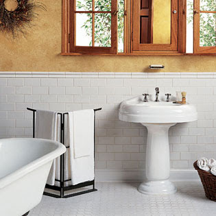 Rose City Bungalow 1913 Bathroom Tile Design Ideas