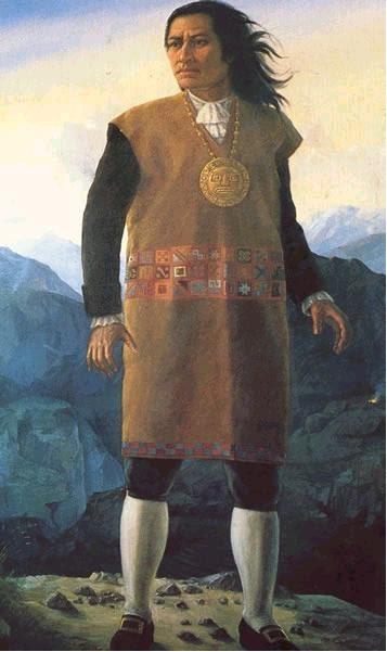 Vestimenta Peruana En La   Poca Colonial