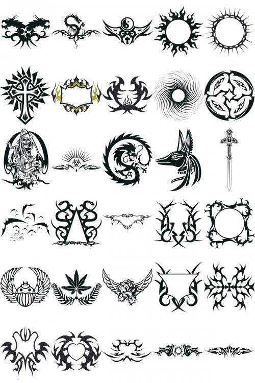 Cool Tribal Vector ??? it is triball ? ;)   Corel Draw Tutorial and ...