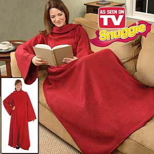 Snuggie took part in New York Fashion Week on Tuesday, which I have to