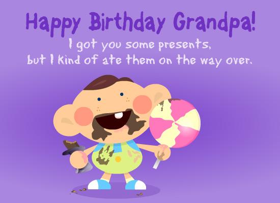 GrandPa Birthday Cards, GrandFather Birthday Wishes